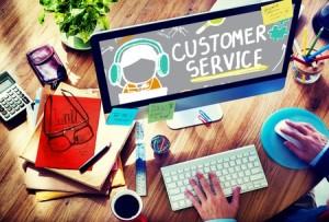 46280051 - customer service call center agent care concept