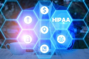 Word writing text Hipaa. Business concept for Acronym stands for Health Insurance Portability Accountability.